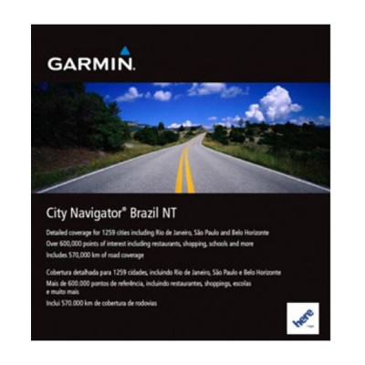 Cartão Garmin City Navigator Brazil NT