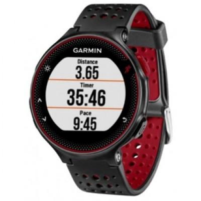 Relógio Garmin Forerunner 235 Preto c/ vermelho