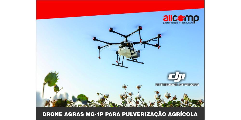 Drone Agras MG-1P p/ Pulverização Agrícola