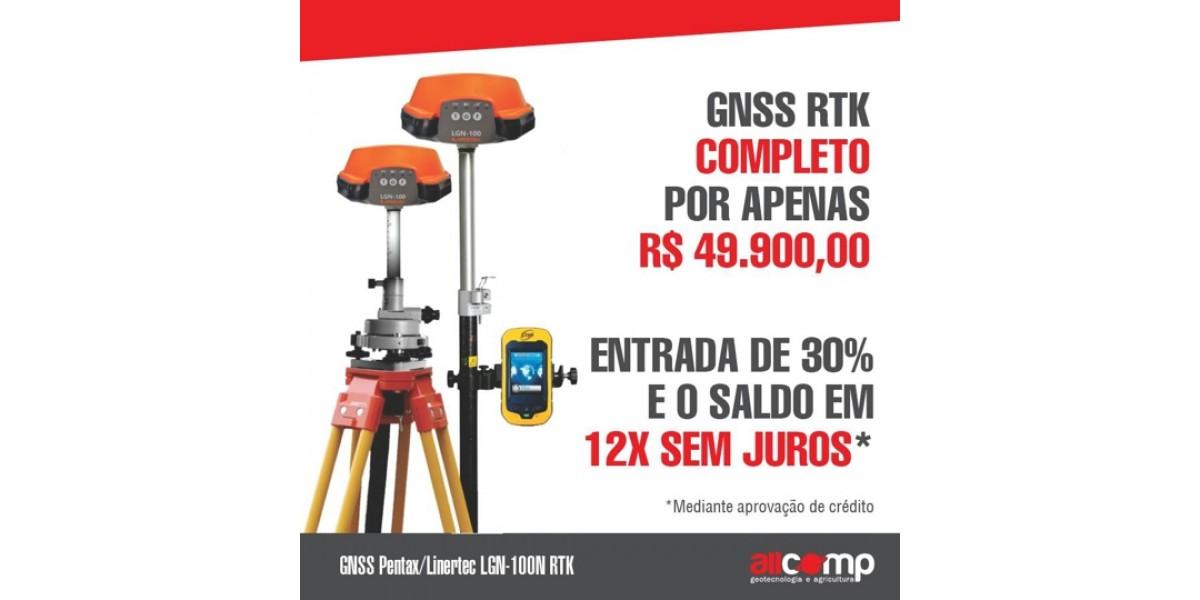 GNSS RTK Pentax/Linertec em 12X confira!
