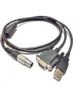 Cabo de dados HI-TARGET USB/RS232 p/ GPS V8/V9/HD8200