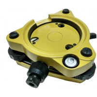 Base Nivelante c/ Prumo Óptico Amarela