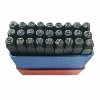 Batedor Alfabeto - Jogo de Punção em Aço 4mm