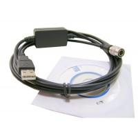 Cabo de dados USB p/ Estação Total Nikon
