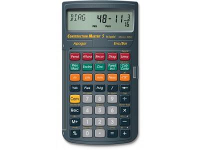 Calculadora Construction Master 5 Espanhol