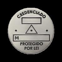 Placa Slim Padrão Premium s/ furos