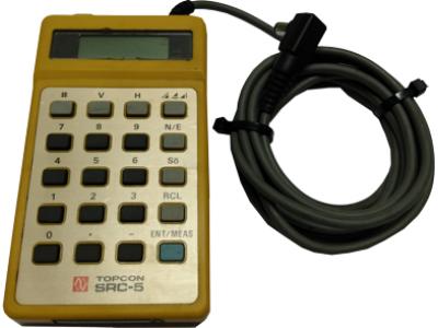 Controladora Topcon SRC-5